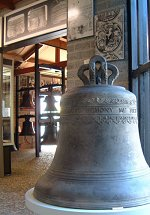 The Hemony bell in the museum of Asten