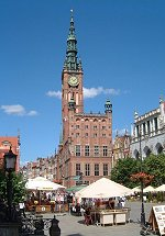 The old Town Hall of Gdansk